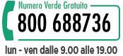 Numero Verde 800 688736