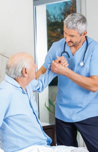 riabilitazione geriatrica nelle residenze per anziani del Gruppo La Villa