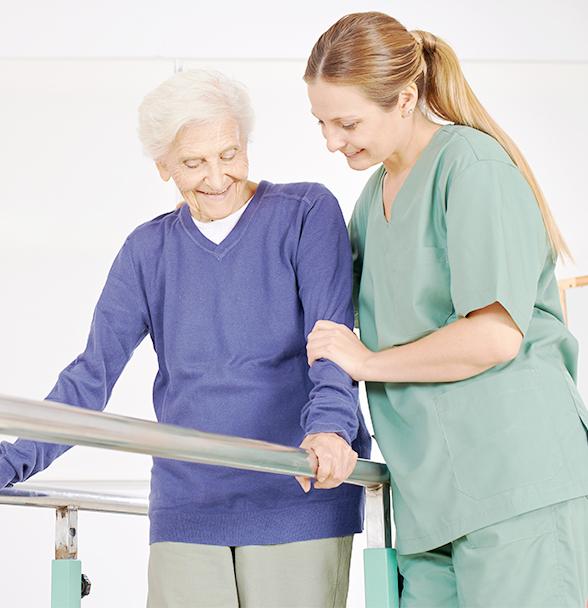 riabilitazione geriatrica con medico