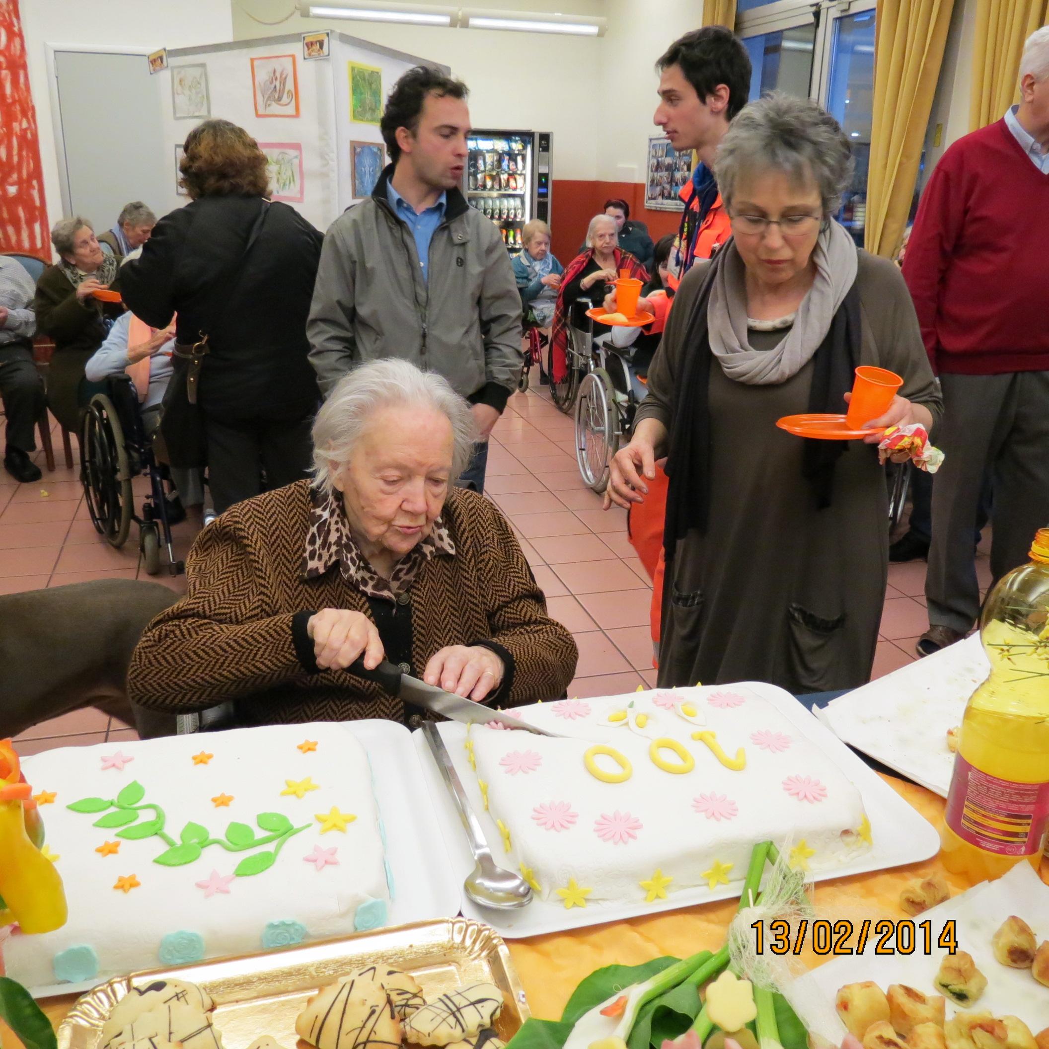 Festa dei 100 anni all'Alfieri