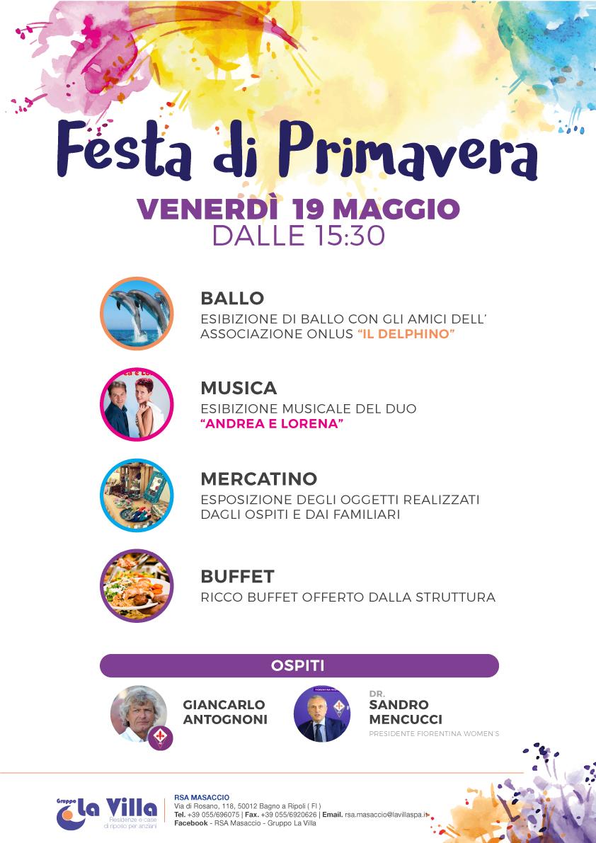 Festa di Primavera alla Masaccio