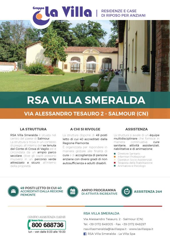 Villa Smeralda nella Rivista Proloco Salmour
