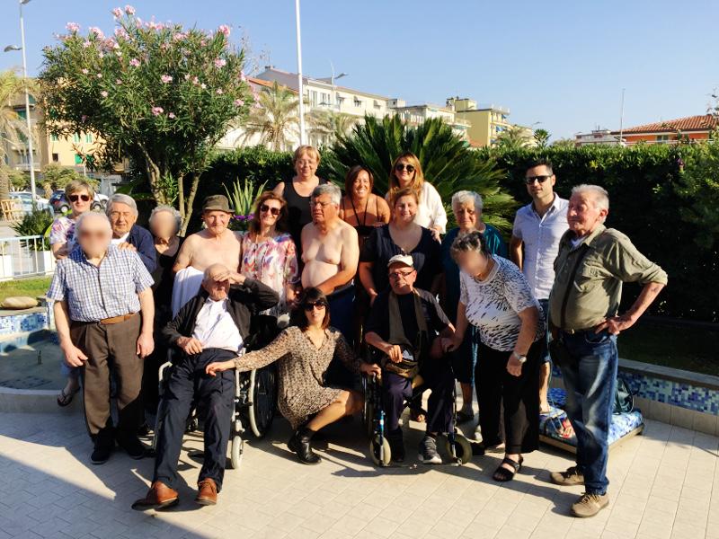 PENSIONATO SAN GIUSEPPE & RSA ALFIERI: GIORNATA INSIEME AL MARE!