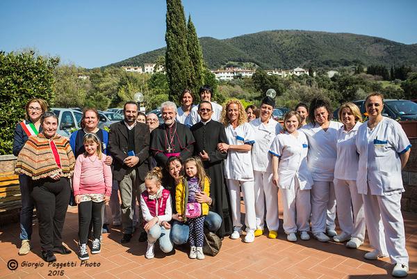 RSA Caravaggio: inaugurata il 12 Aprile la nuova cappella con la benedizione del Vescovo della Diocesi di Grosseto