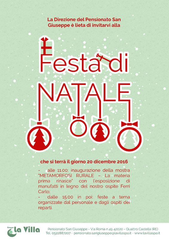 PENSIONATO SAN GIUSEPPE: Festa di Natale