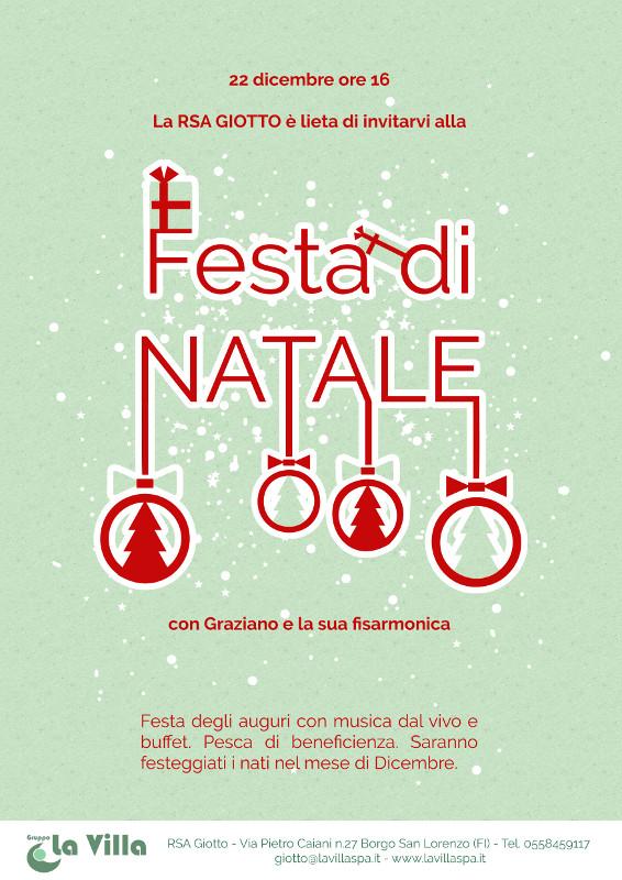 RSA GIOTTO: Festa di Natale con Graziano e la sua fisarmonica