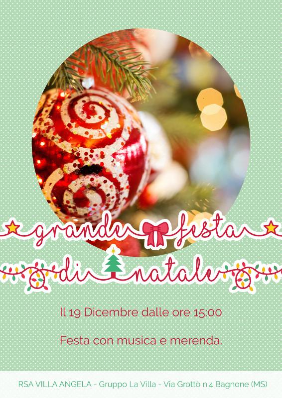 RSA VILLA ANGELA: Grande festa di Natale