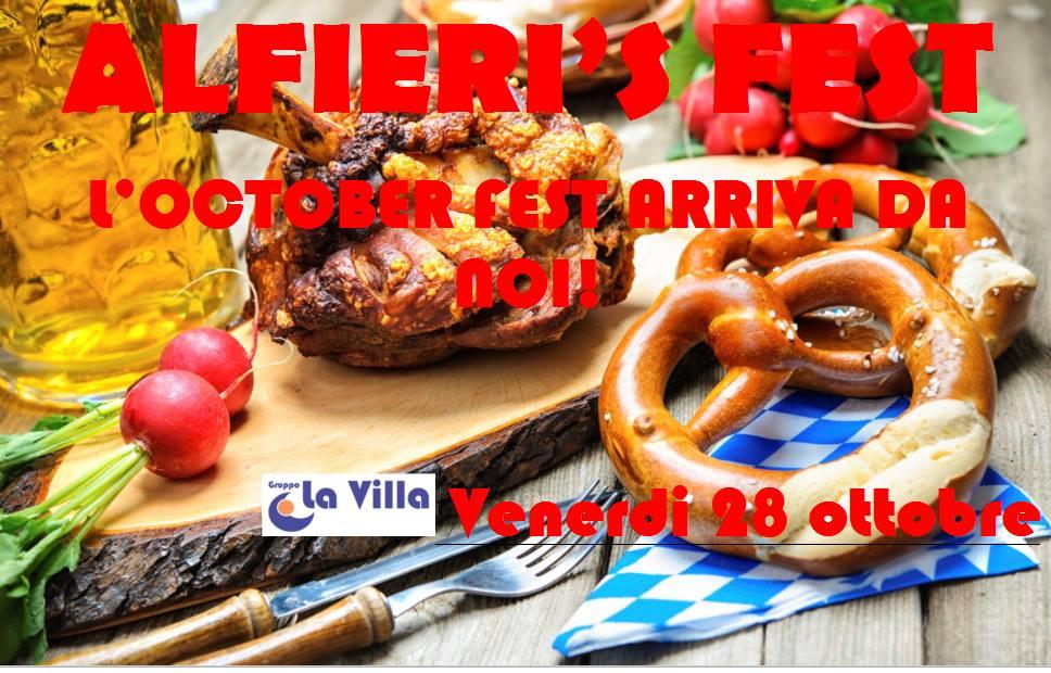 RSA ALFIERI: OCTOBER FEST