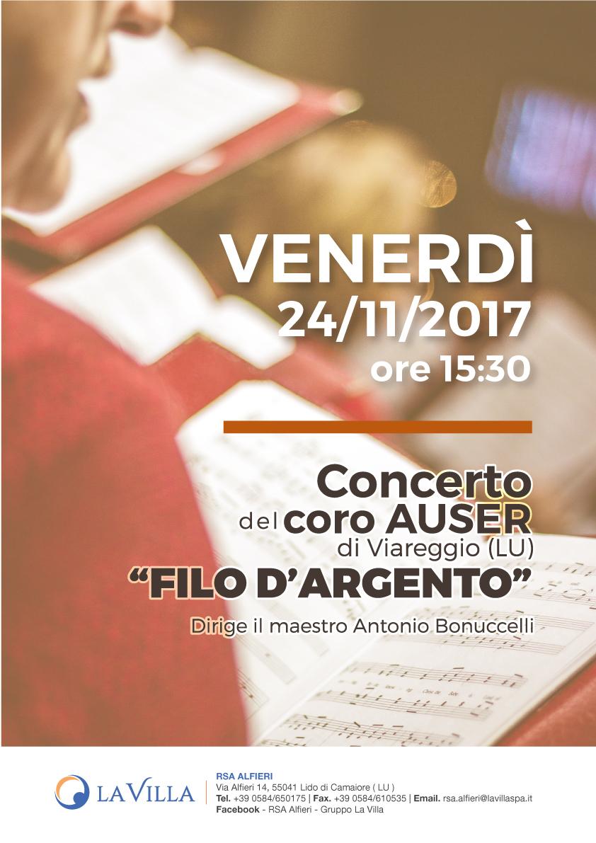 Concerto del coro AUSER di Viareggio
