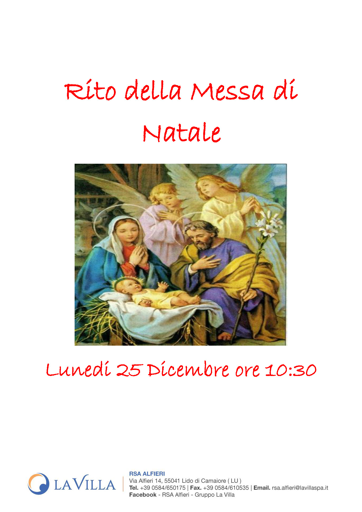 Rito della Messa di Natale
