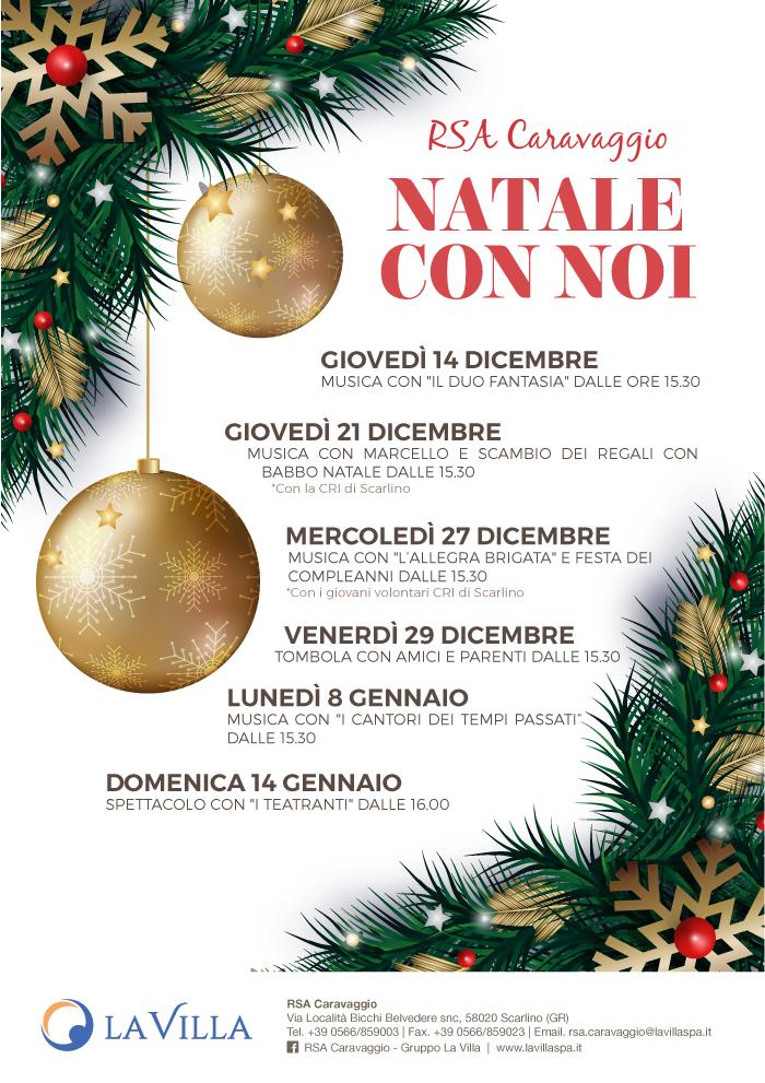 RSA Caravaggio – Festeggiando il Natale