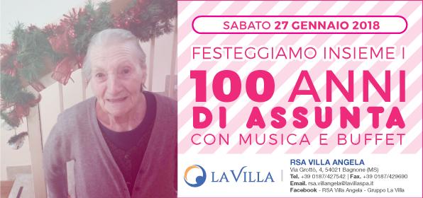 Festeggiamo insieme i 100 anni di Assunta