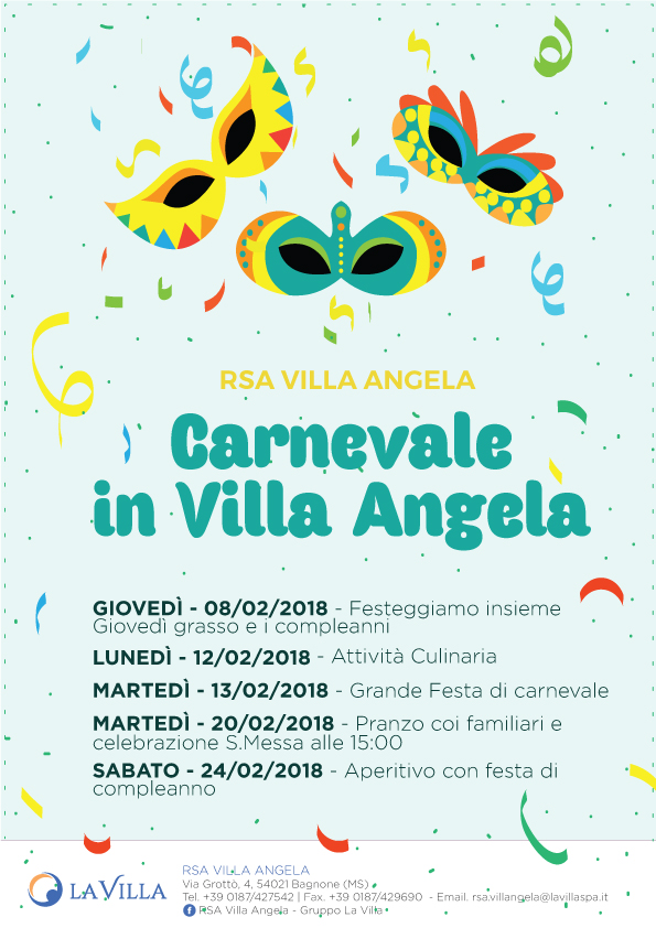 Carnevale in Villa Angela