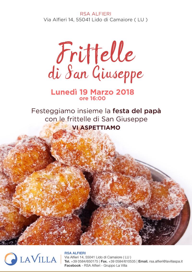 Frittelle di San Giuseppe All'Alfieri