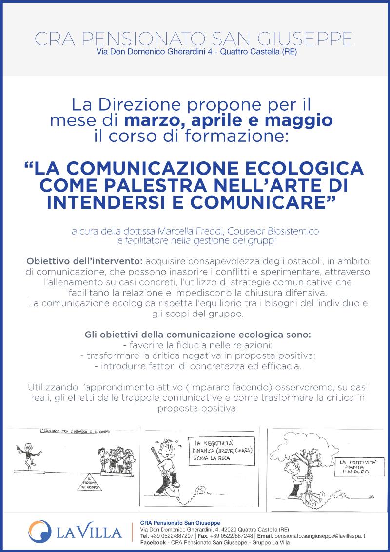 """""""LA COMUNICAZIONE ECOLOGICA COME PALESTRA NELL'ARTE DI INTENDERSI E COMUNICARE"""""""
