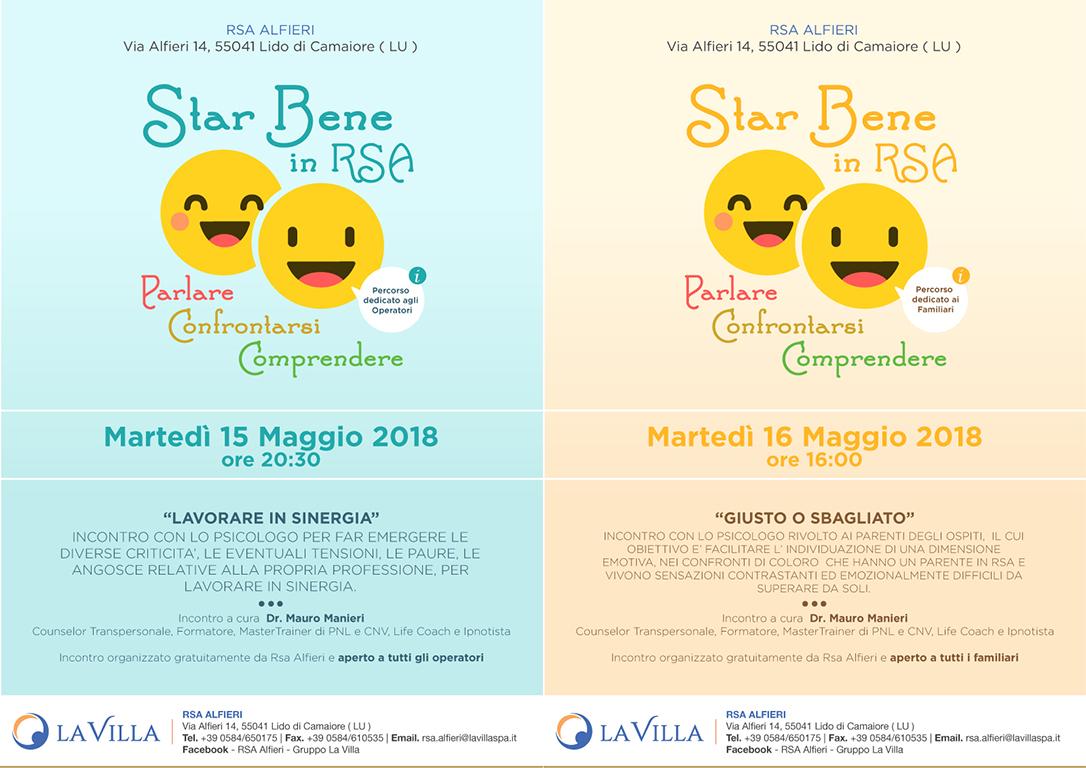 STAR BENE IN RSA – PARLARE, COMPRENDERE, CONFRONTARSI