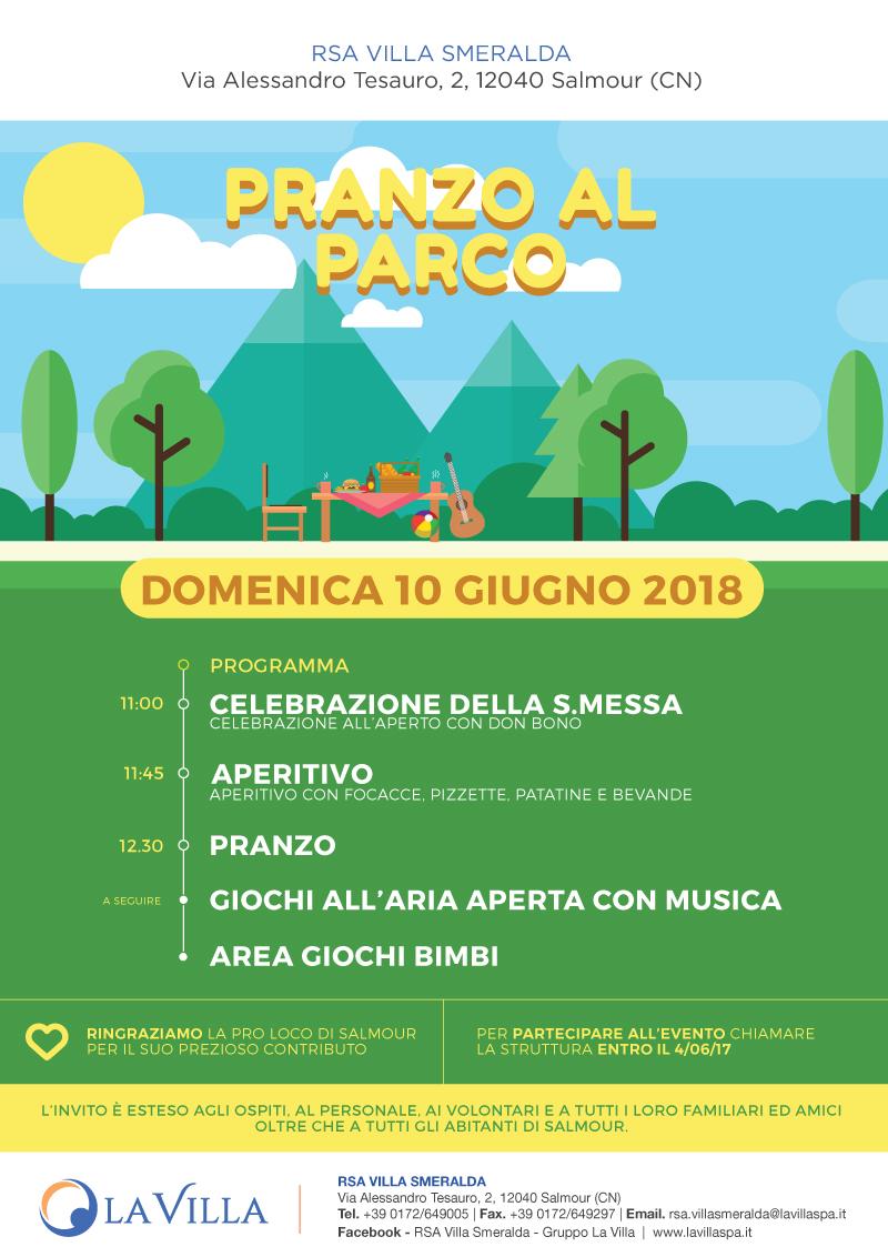 """Rsa Villa Smeralda: torna l'appuntamento con il """"Pranzo al Parco"""" per celebrare l'estate"""