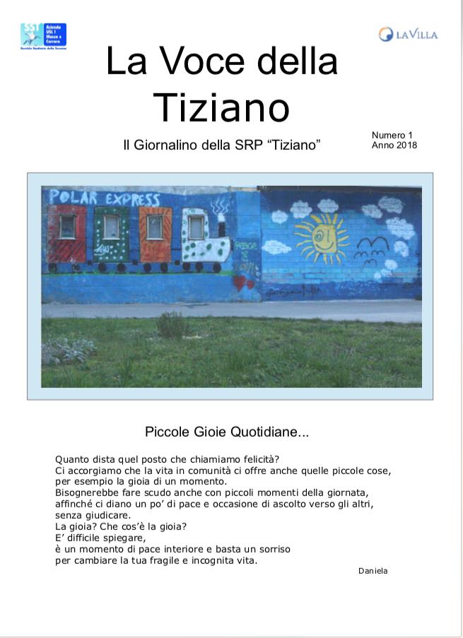 """""""La Voce della Tiziano"""" – La prima uscita del nuovo giornalino"""