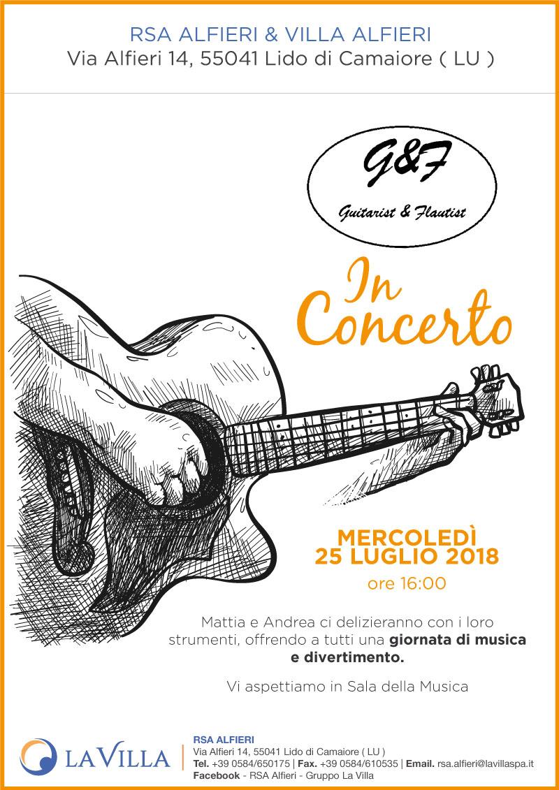 Guitarist & Flautist In Concerto