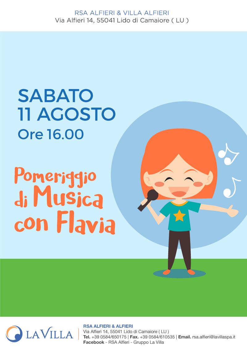 Musica all'alfieri con Flavia