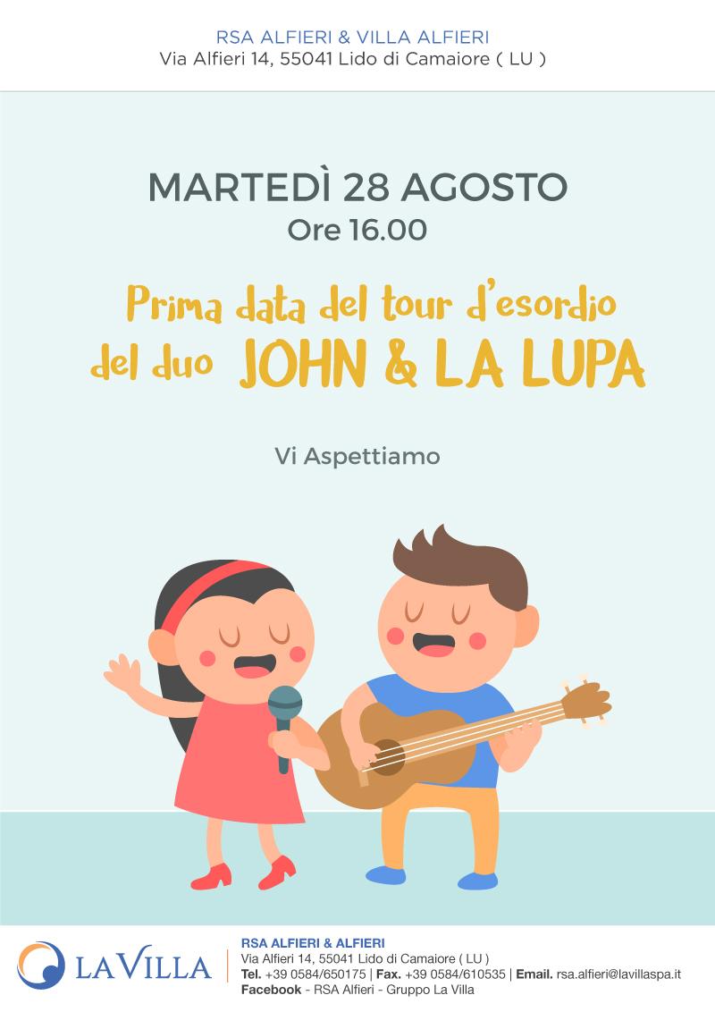 John & la Lupa Show