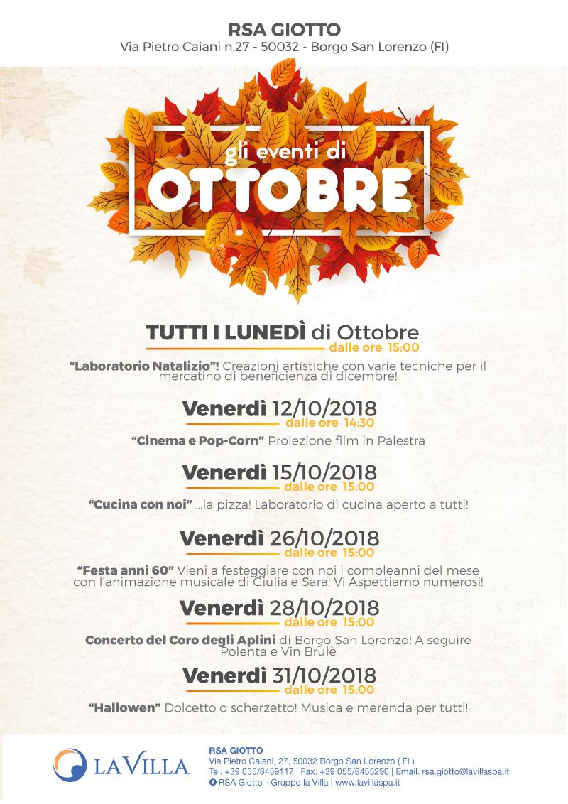 Ottobre alla Giotto
