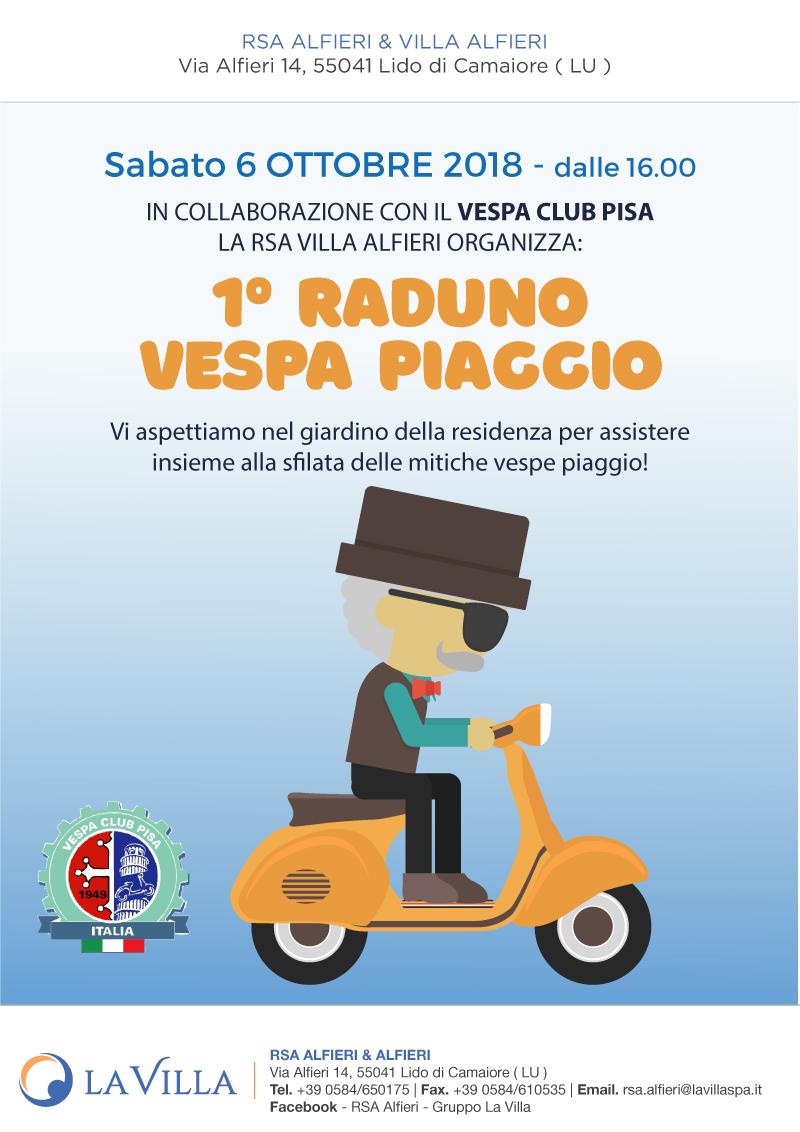 1° Raduno Vespa Piaggio all'Alfieri