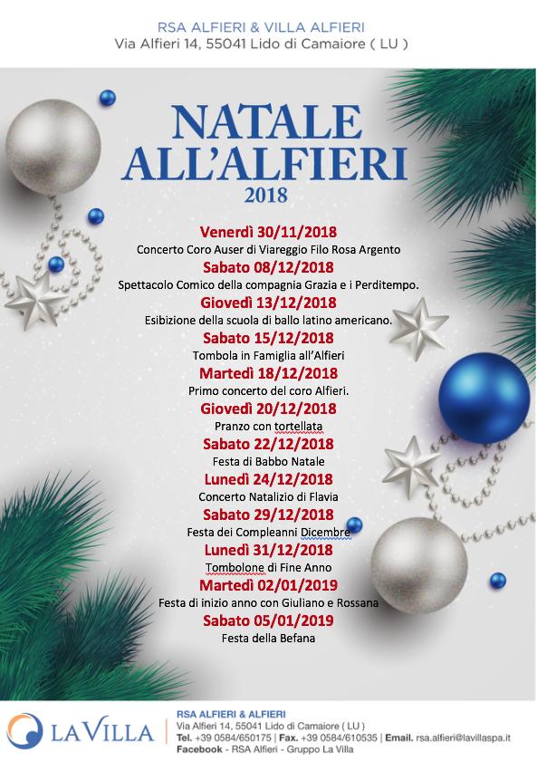 Natale ALL'ALFIERI – Gli eventi di Dicembre