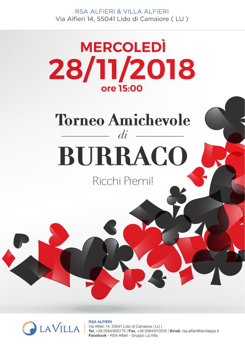 Torneo Amichevole di Burraco