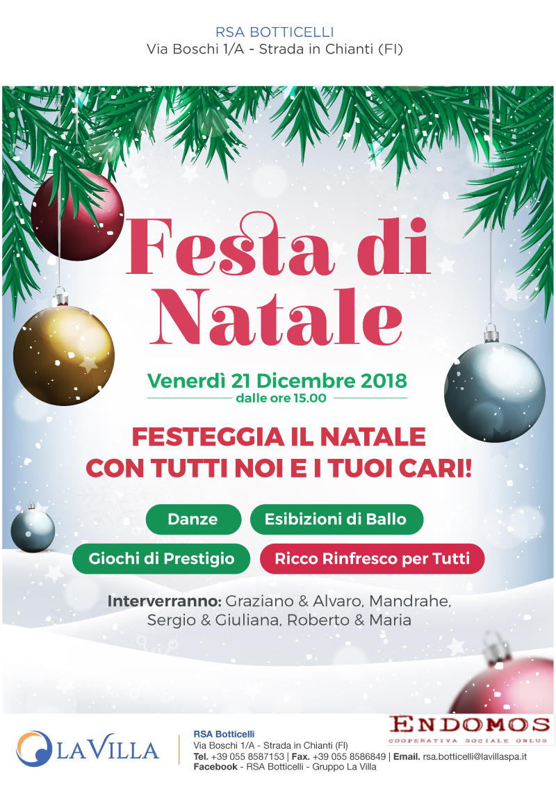Festa di Natale in Struttura!