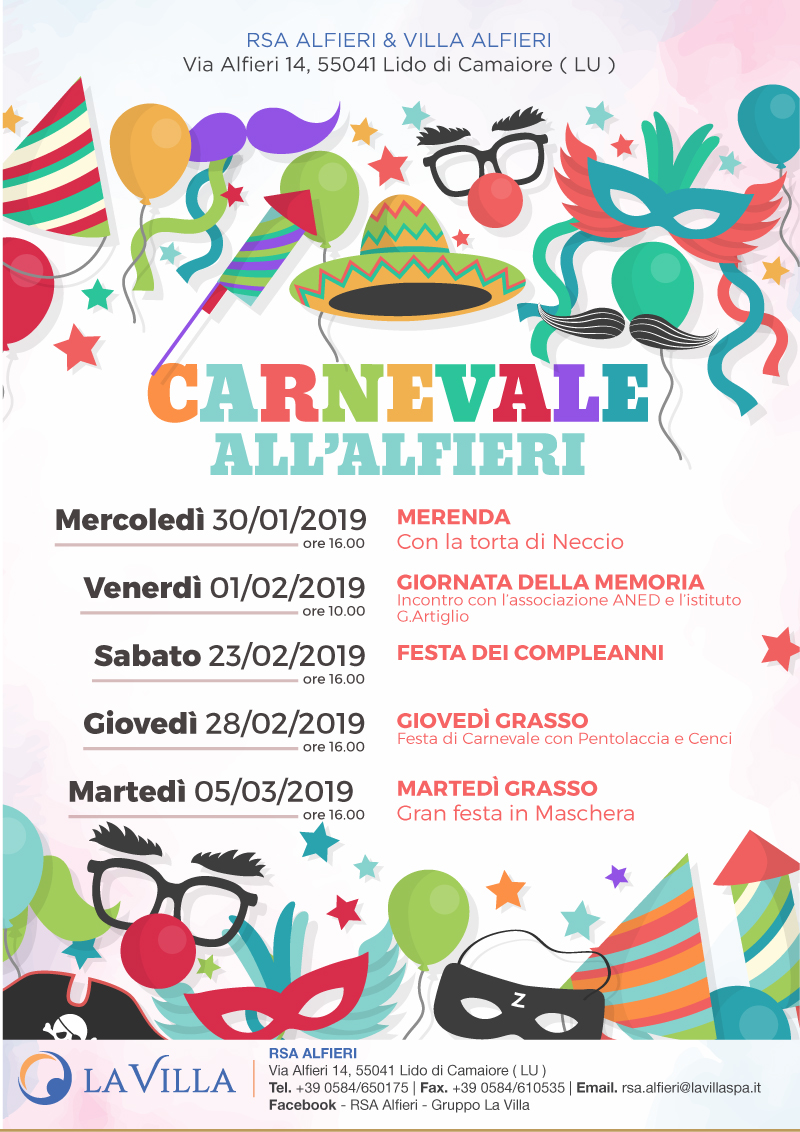 CARNEVALE ALL'ALFIERI