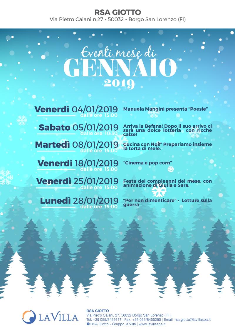 RSA GIOTTO – Inizio di anno ricco di eventi!