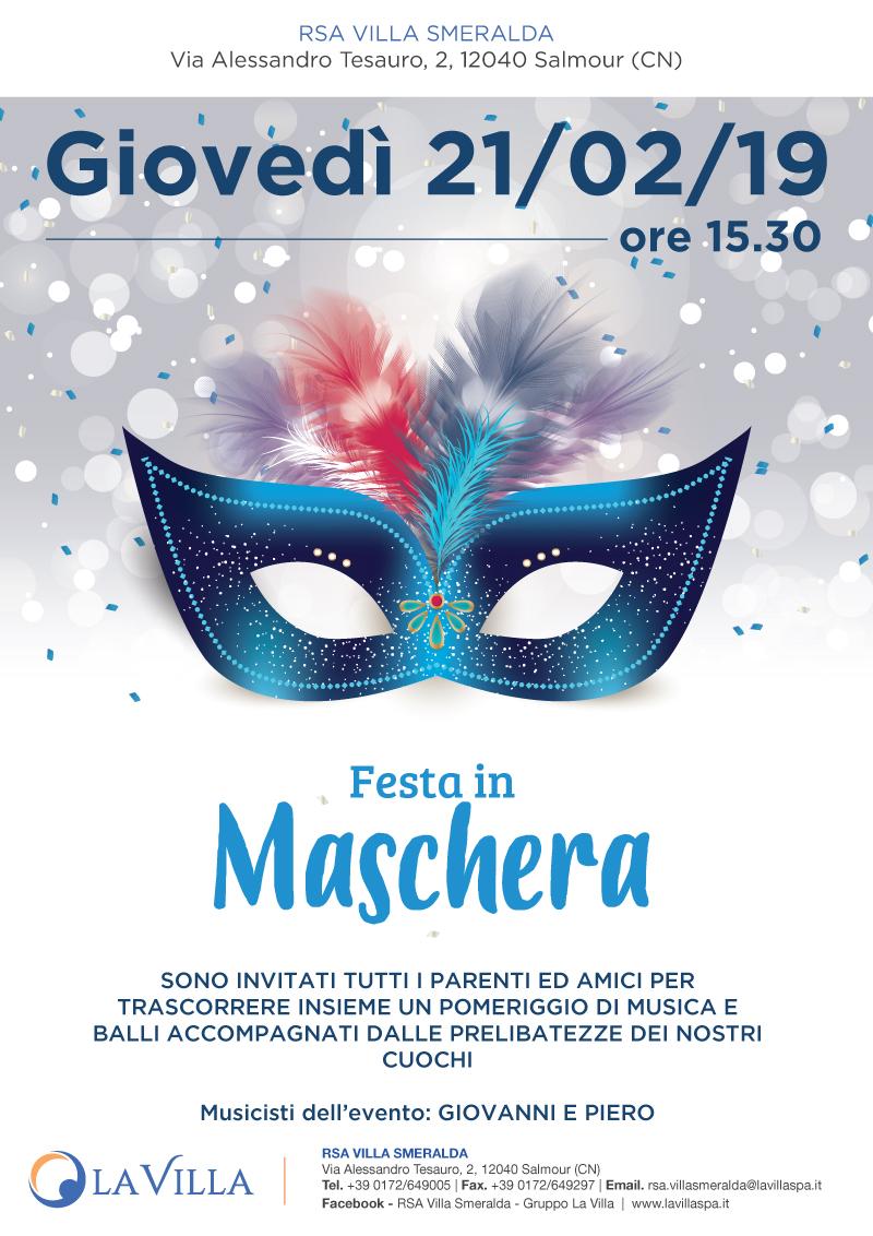 Festa in Maschera in Villa Smeralda
