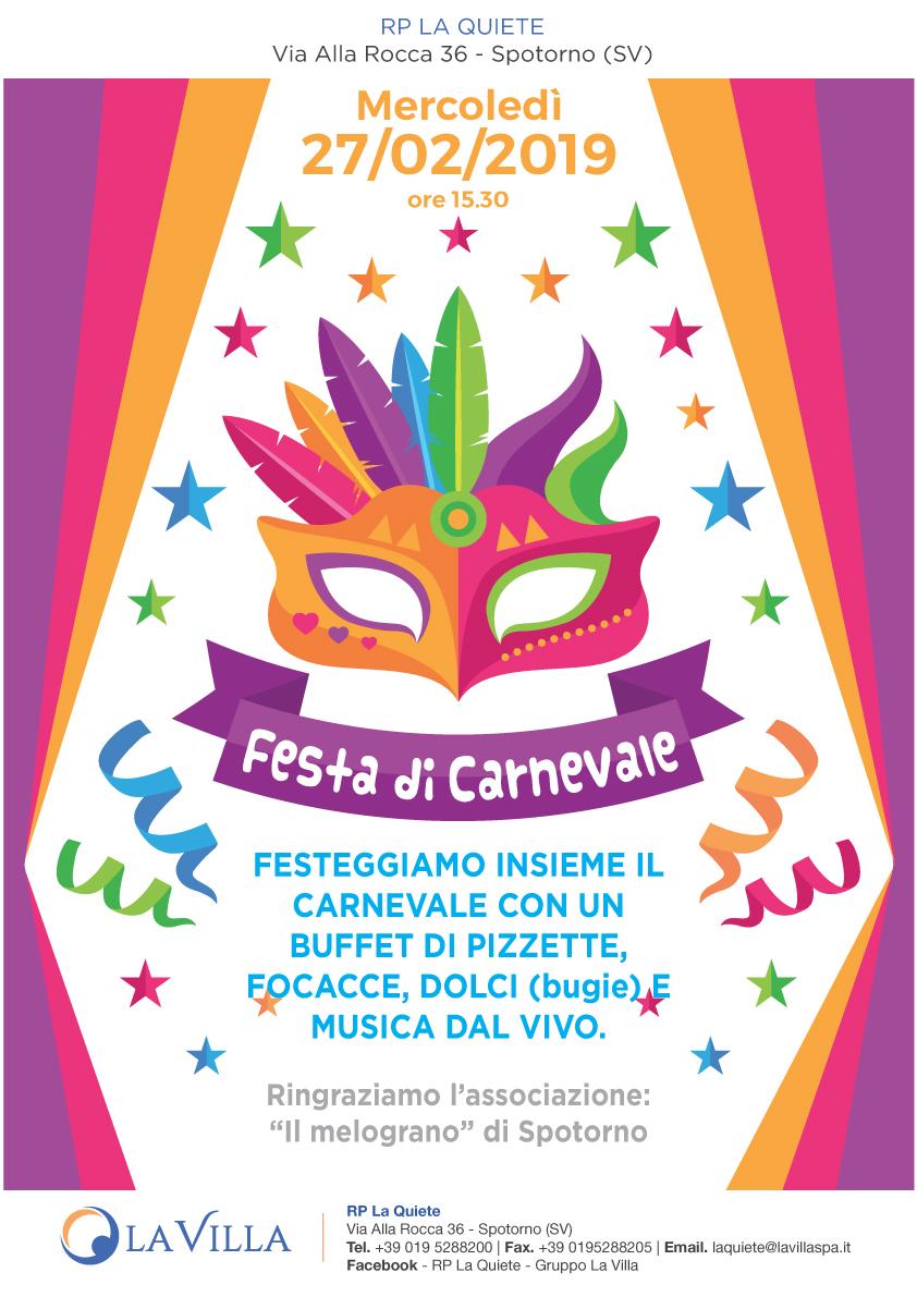 Festa di Carnevale alla Quiete