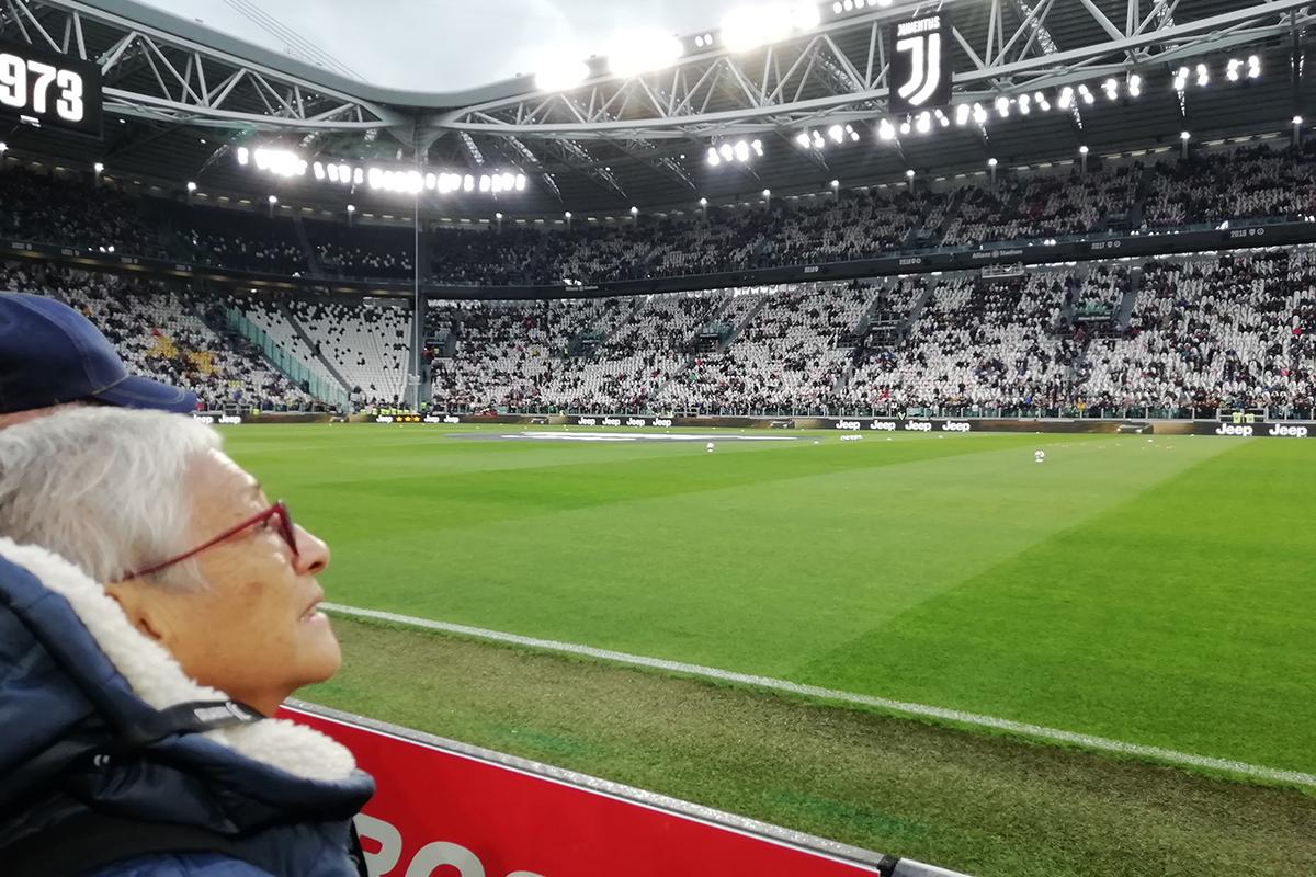 Gli ospiti del Gruppo La Villa in Tribuna d'Onore per la partita Juventus – Atalanta all'Allianz Stadium di Torino