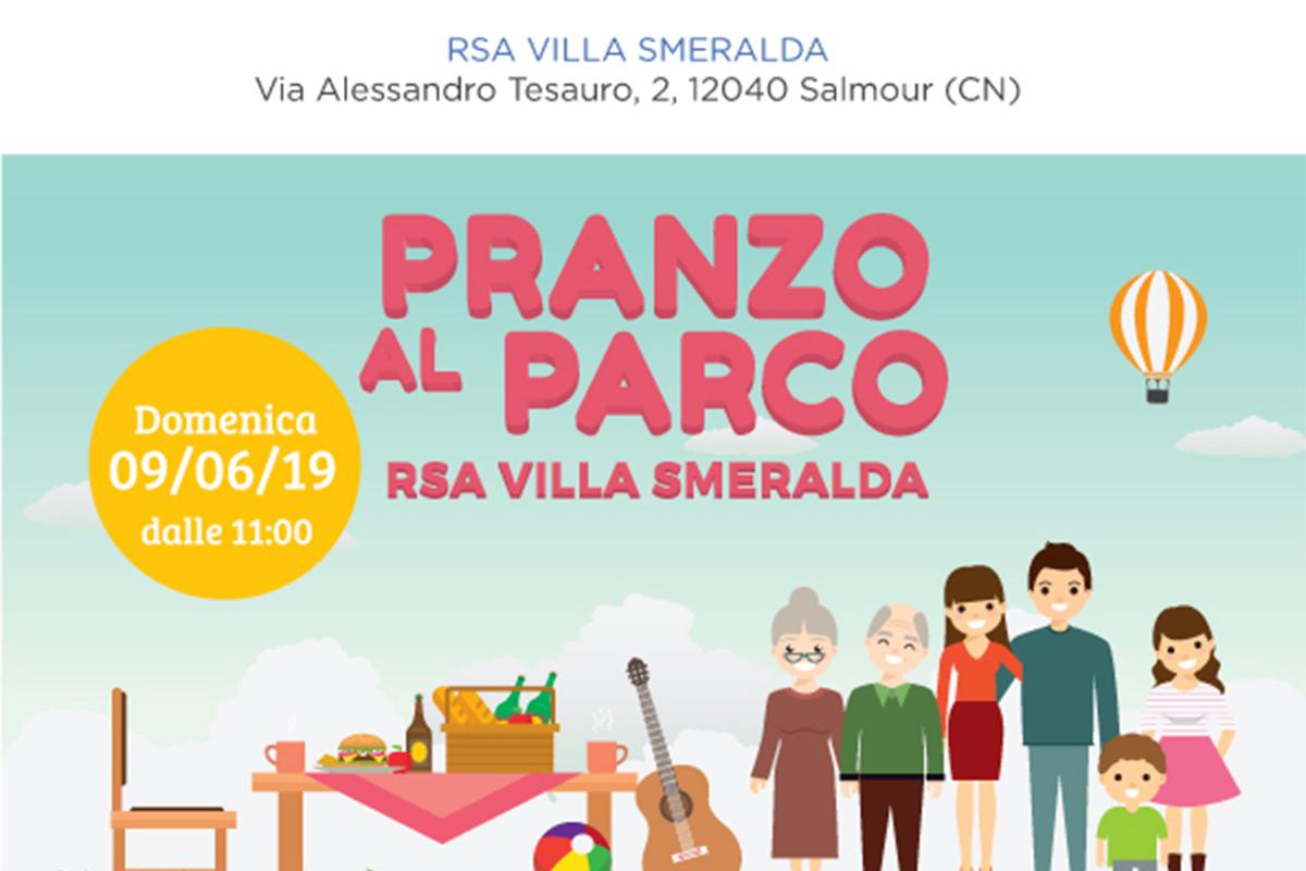 """""""Pranzo nel Parco"""": torna l'appuntamento estivo a RSA Villa Smeralda!"""