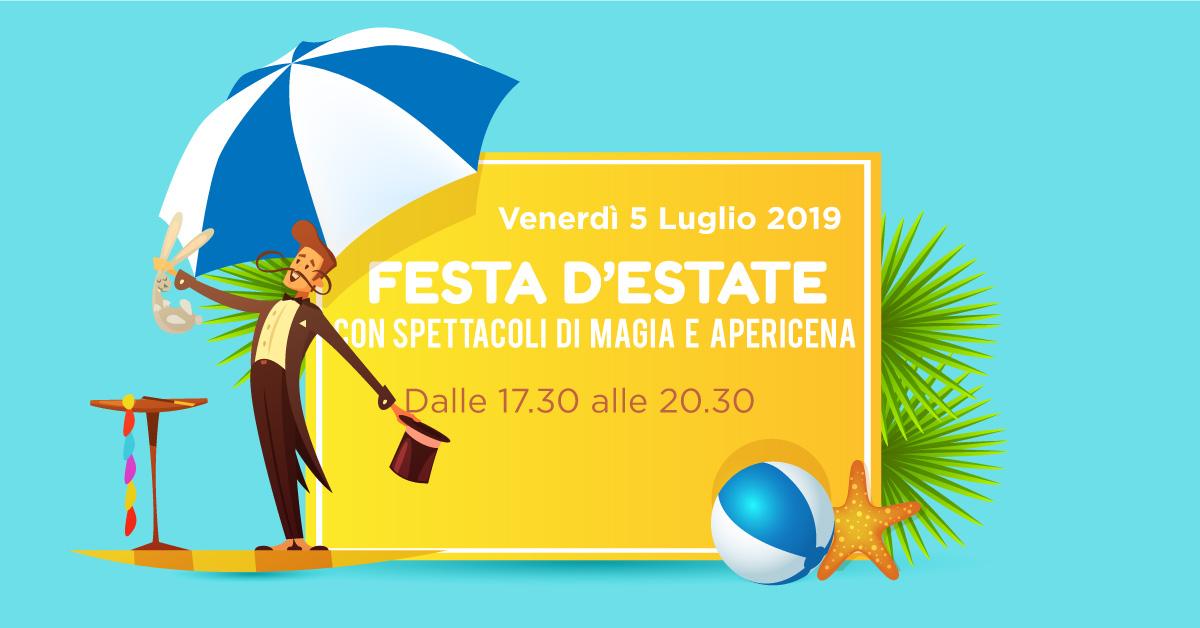 Rsa Masaccio: Festa d'Estate con spettacoli di magia e apericena