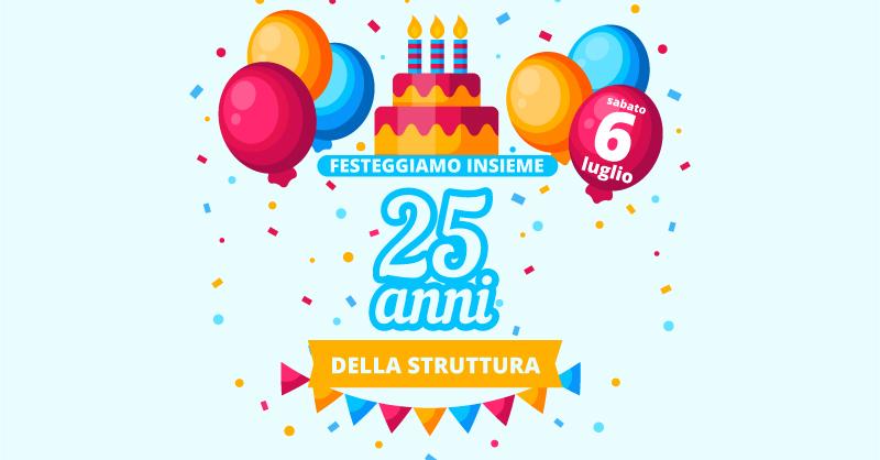 RSA 5 TORRI: LA GRANDE FESTA PER IL 25° COMPLEANNO DELLA STRUTTURA