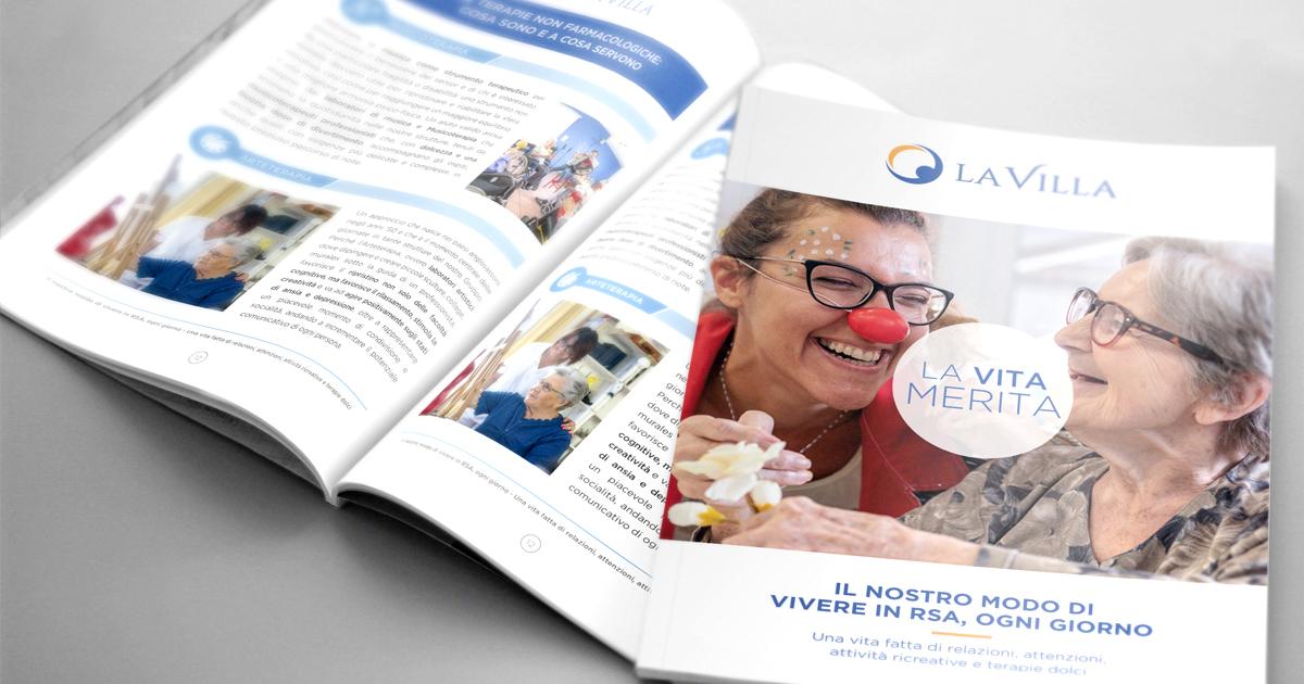 Il valore della quotidianità in Rsa: online l'ebook pdf del Gruppo La Villa dedicato alle attività ricreative e agli approcci non farmacologici