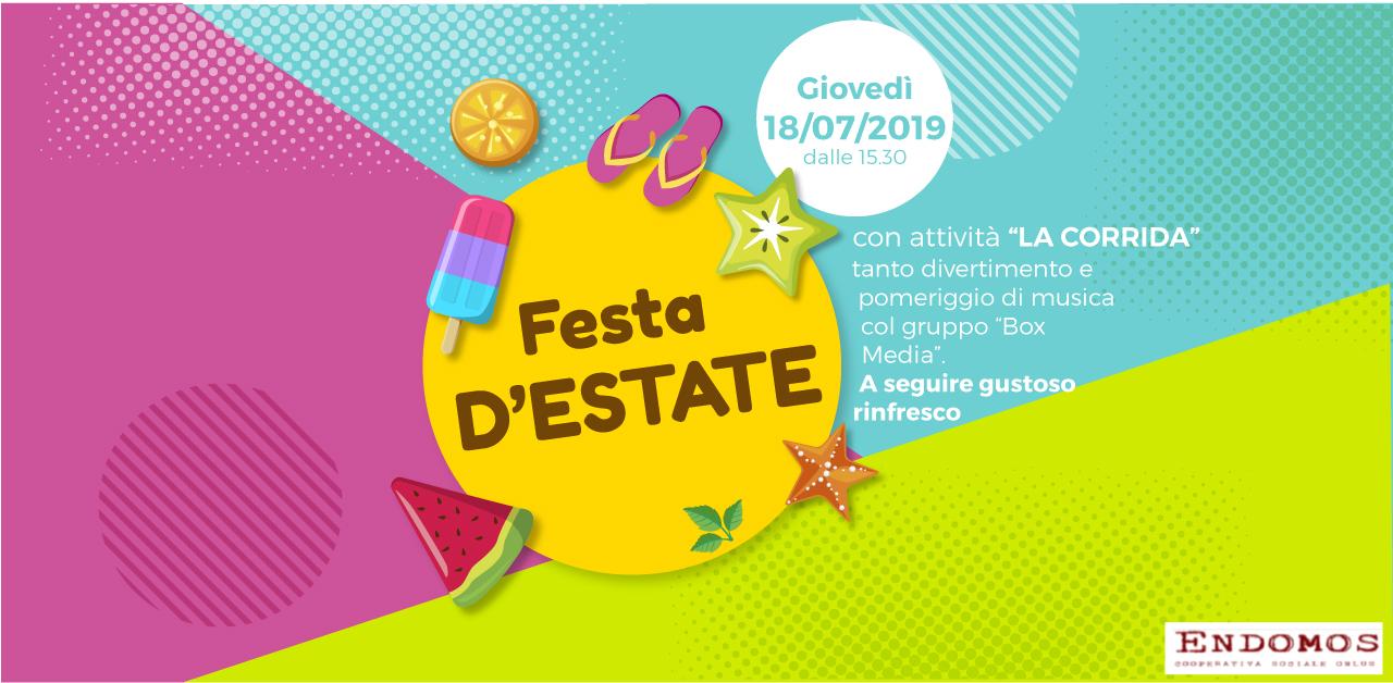 Rsa Botticelli: Festa d'estate con corrida