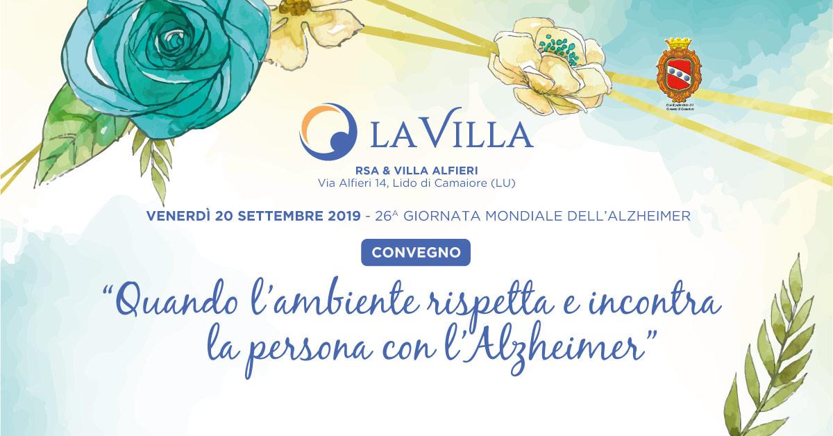 Rsa & Villa Alfieri: Convegno dedicato all'Alzheimer