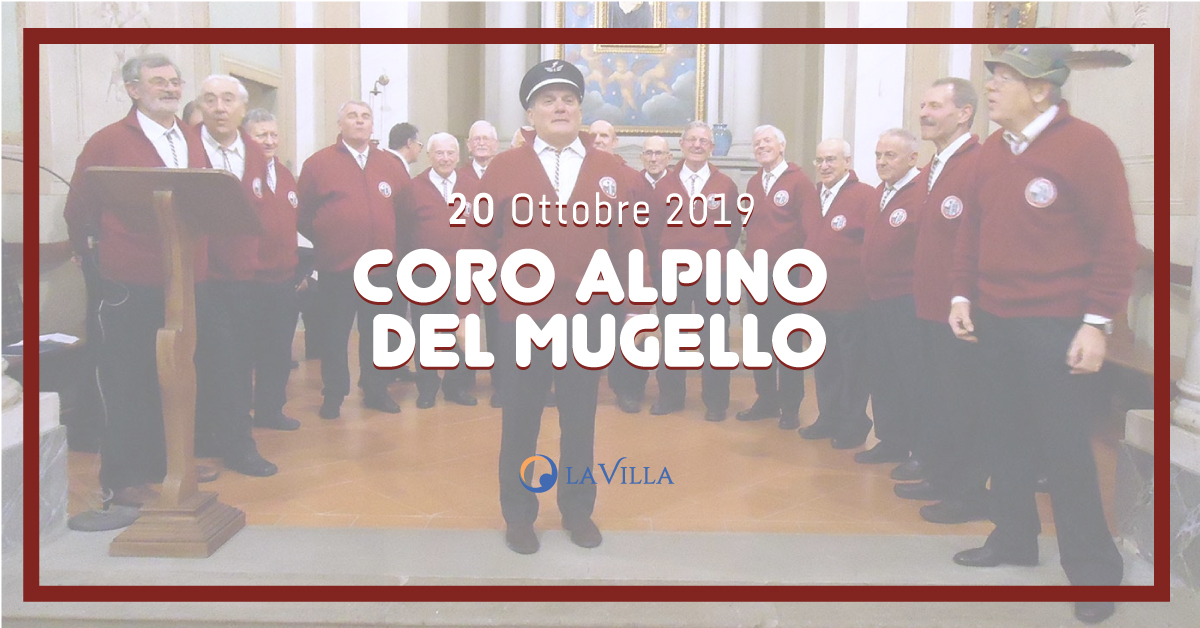 Coro degli Alpini del Mugello presso Rsa Giotto