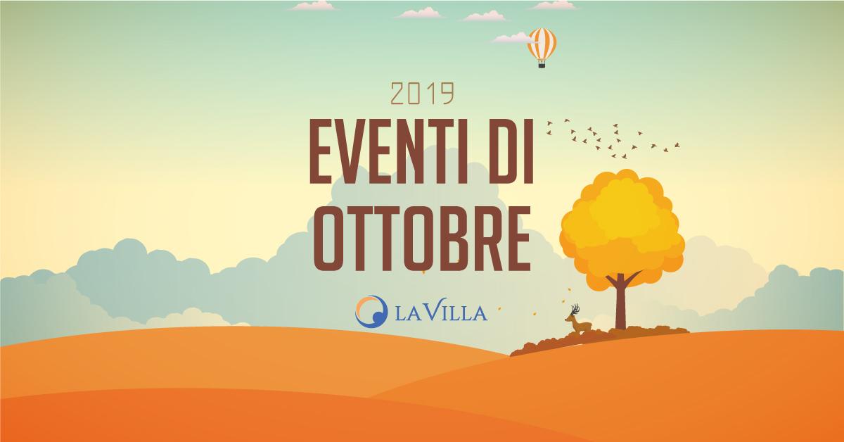 Rsa Giotto: gli eventi di ottobre 2019