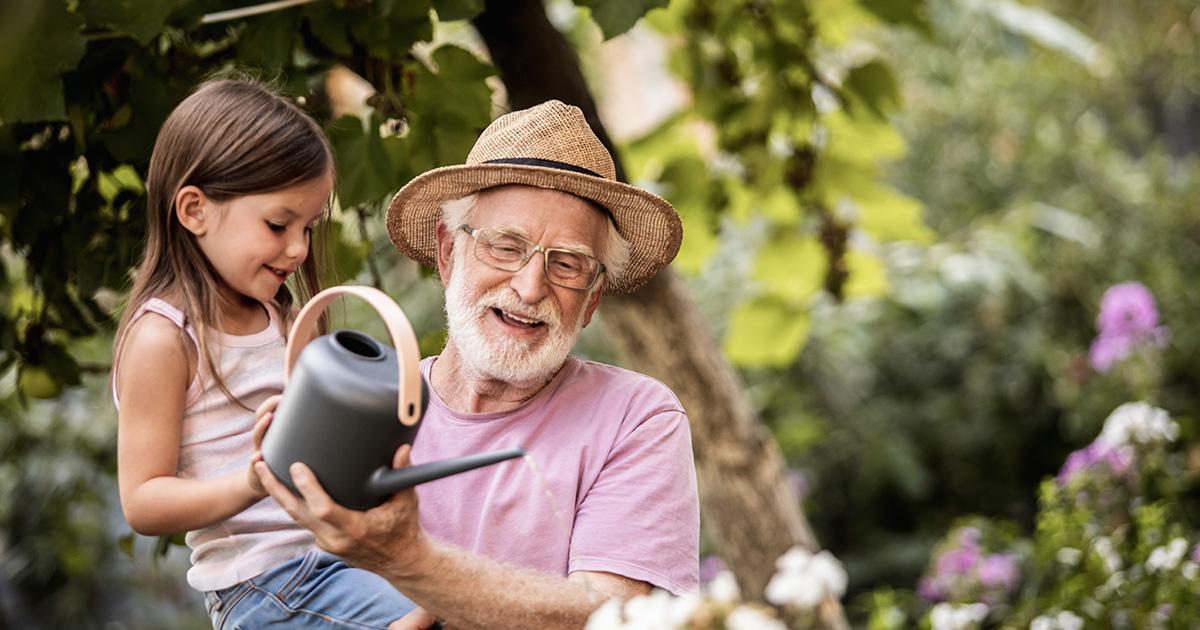 Il nonno va in RSA: come spiegarlo ai bambini?
