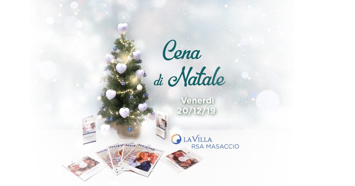 Cena di Natale 2019 di Rsa Masaccio