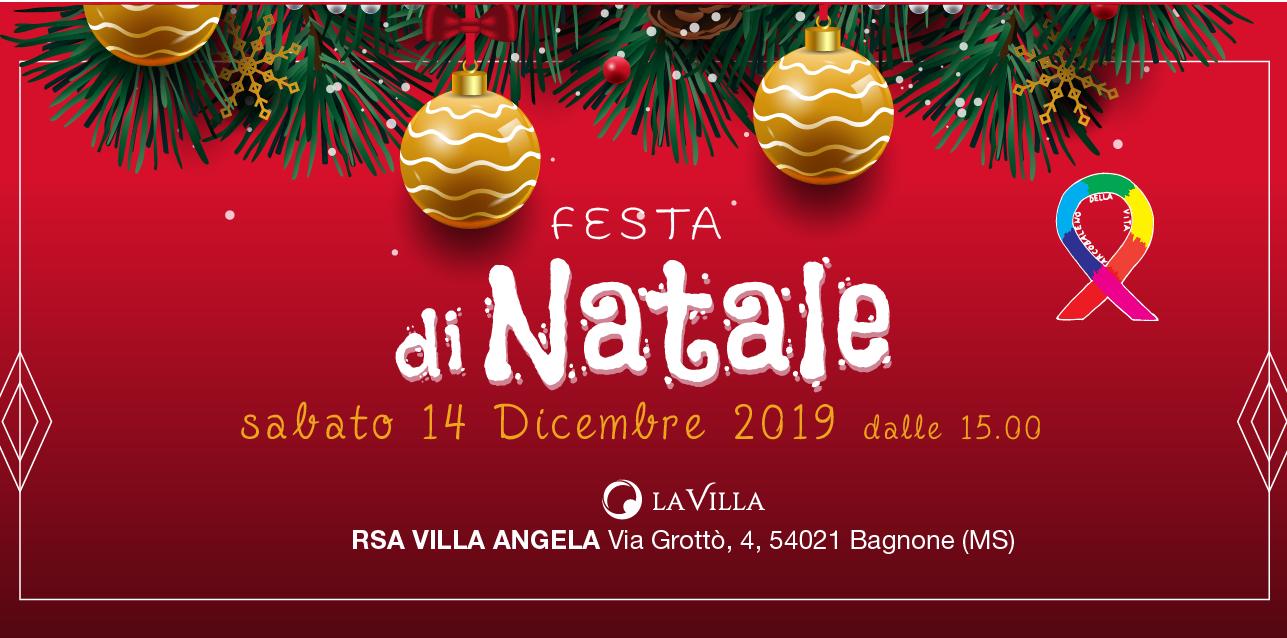 Festa di Natale di Rsa Villa Angela