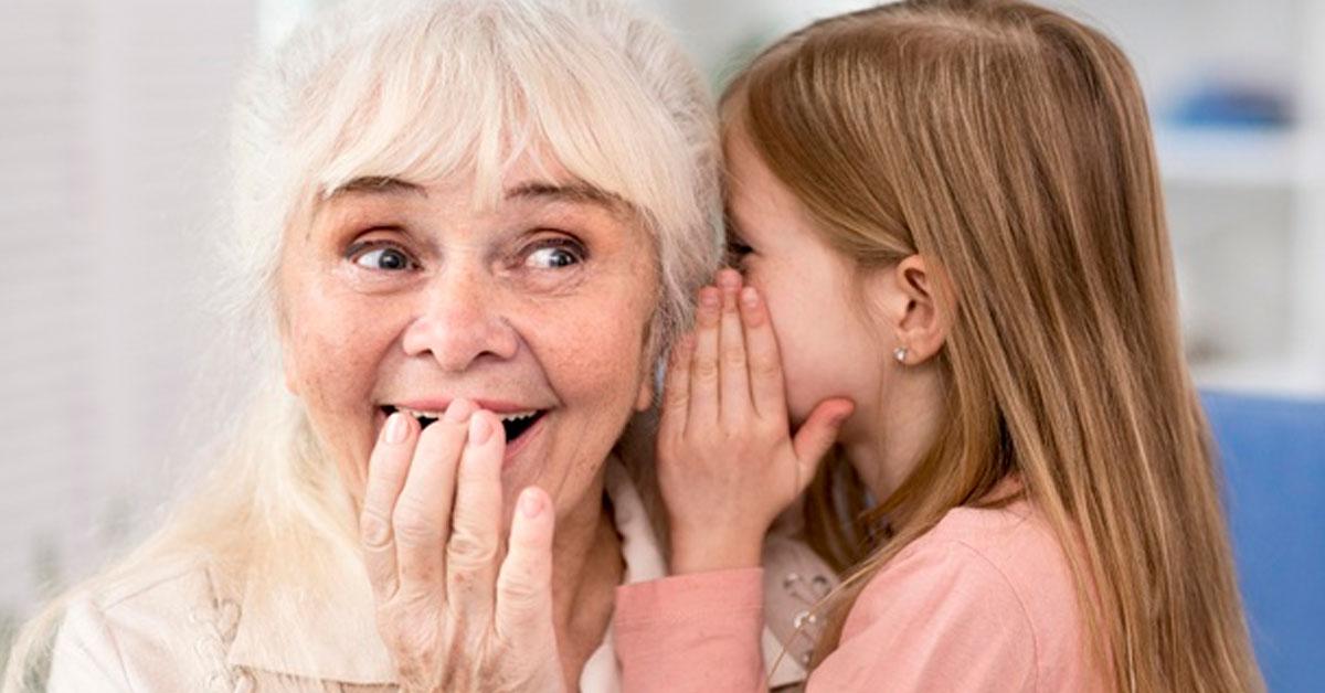 Bambini e anziani, un rapporto importante