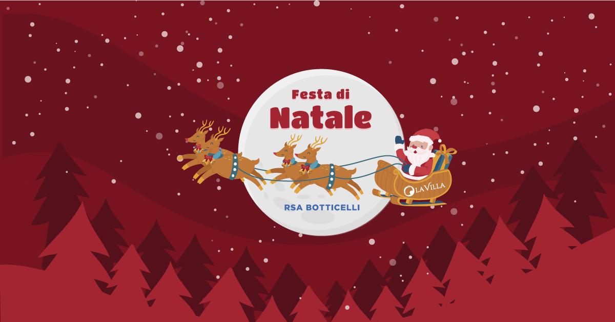 Festa di Natale di Rsa Botticelli 2019