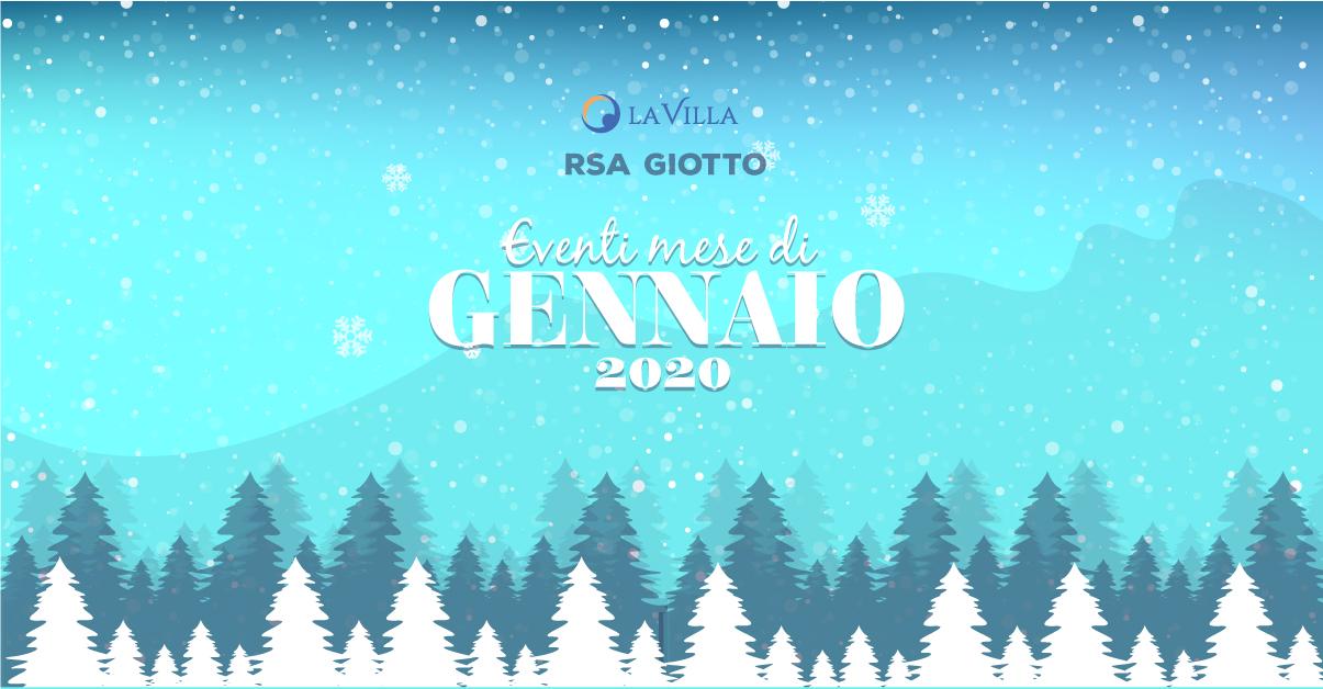 Gli eventi di gennaio di Rsa Giotto