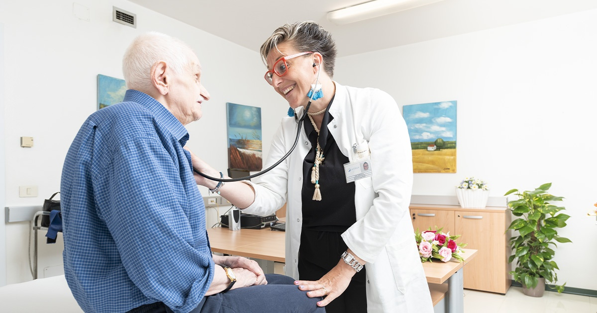Quali le patologie tipiche degli anziani accettate in RSA?